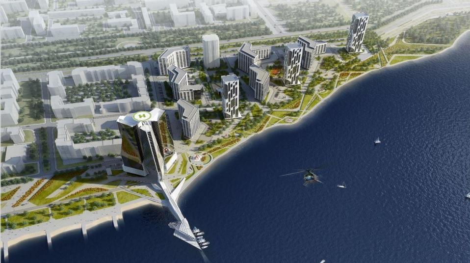 Якобу представили новый проект застройки набережной Исети