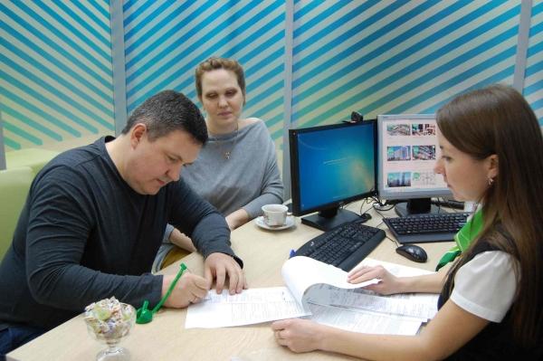 ВЕкатеринбурге молодая семья одна изпервых получила ипотеку польготной ставке
